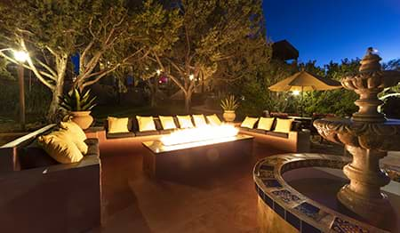 Sunset Chateau Outdoor Firepit
